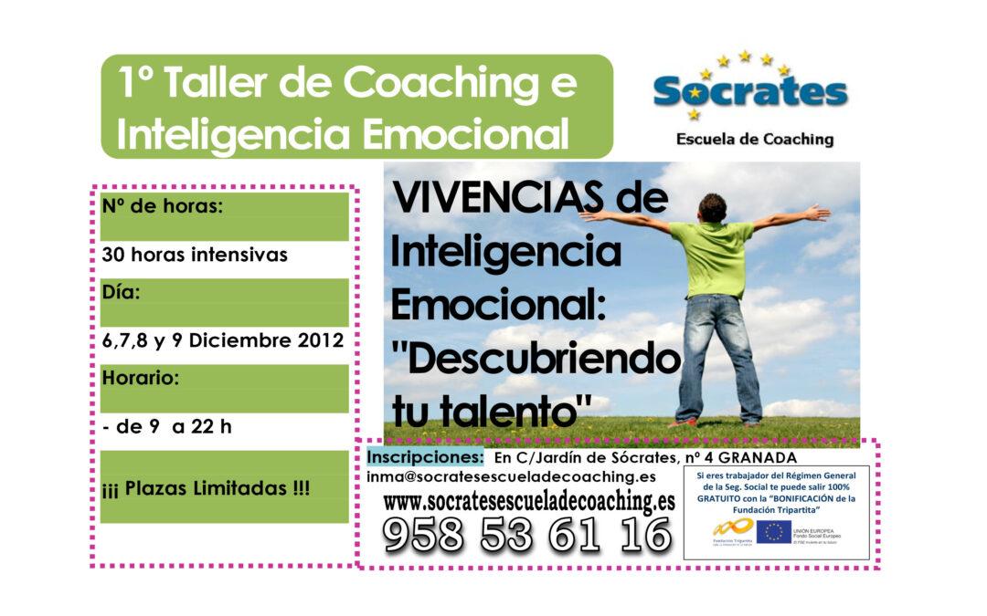Iª Vivencia de Inteligencia Emocional y Coaching. 6,7,8 y 9 Diciembre 2012