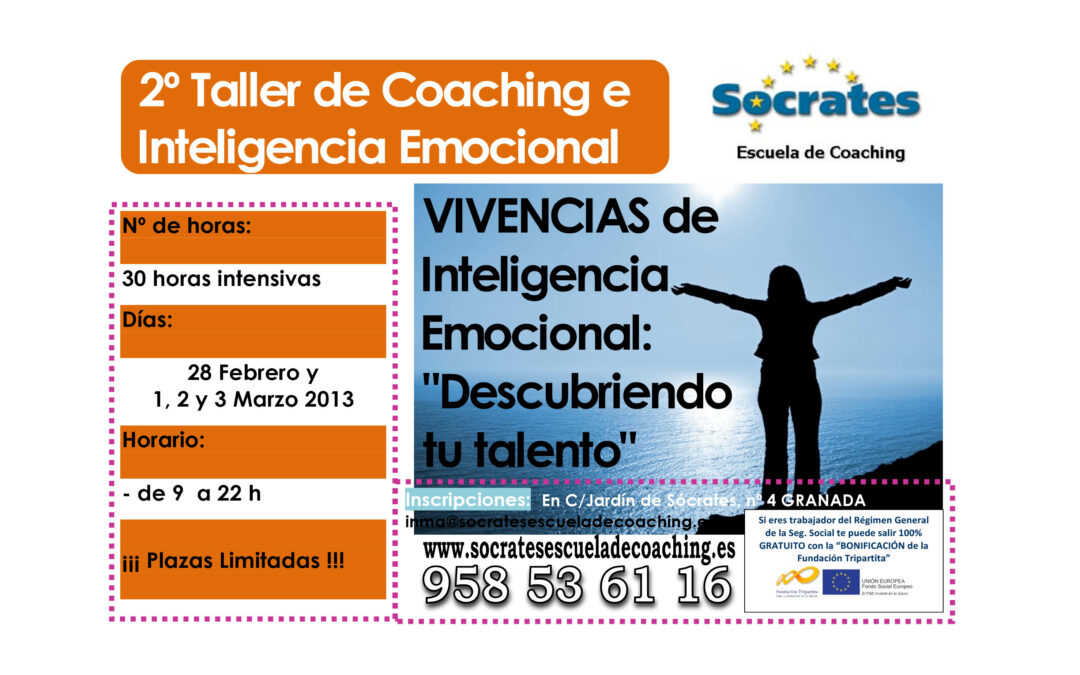 """IIª Vivencias de Inteligencia Emocional: """"Descubriendo tu talento""""."""