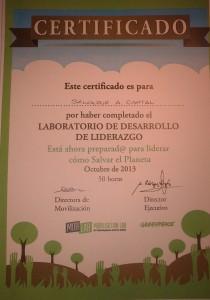 Greenpeace Liderazgo