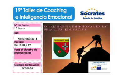 Taller 19º: Colegio Santa María Granada: Inteligencia Emocional