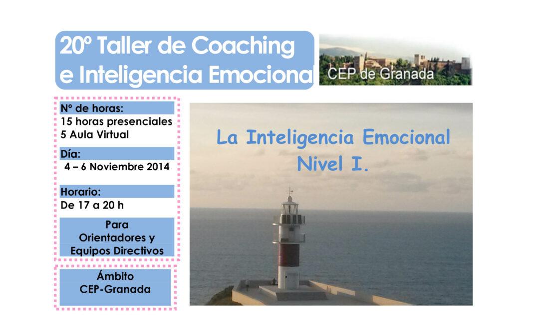 Taller 20º: Inteligencia Emocional para la práctica Educativa (CEP Granada).
