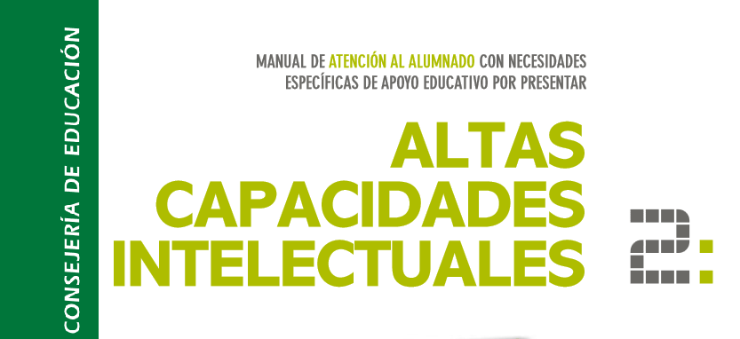 Altas Capacidades. Guía educativa Junta de Andalucía.