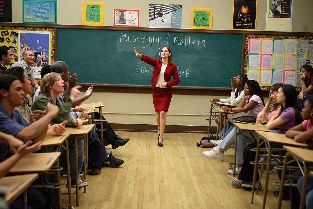 Diarios de la calle (Freedom Writers) y el coaching educativo.