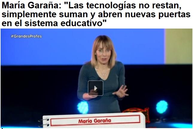 Las Tecnologías suman y abren nuevas puertas en el sistema educativo. (María Garaña)
