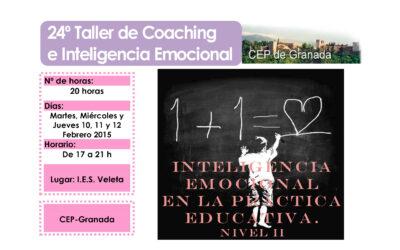 Taller 24º: Inteligencia Emocional en la práctica educativa. Nivel II. CEP-Granada.