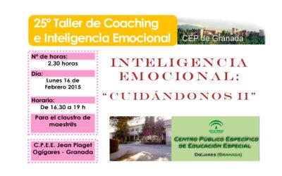 "Taller 25º: C.P.E.E. Jean Piaget: ""Cuidándonos II""."