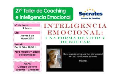 Taller 27º: A.M.P.A. Colegio Victoria Eugenia.