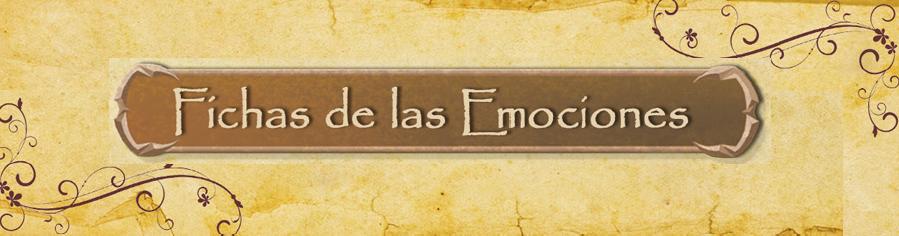Fichas de las Emociones. ( Propuesta taller o tutoría)