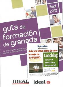 Ideal Guía de Formación. Sept 2012. Sócrates Escuela de Coaching.
