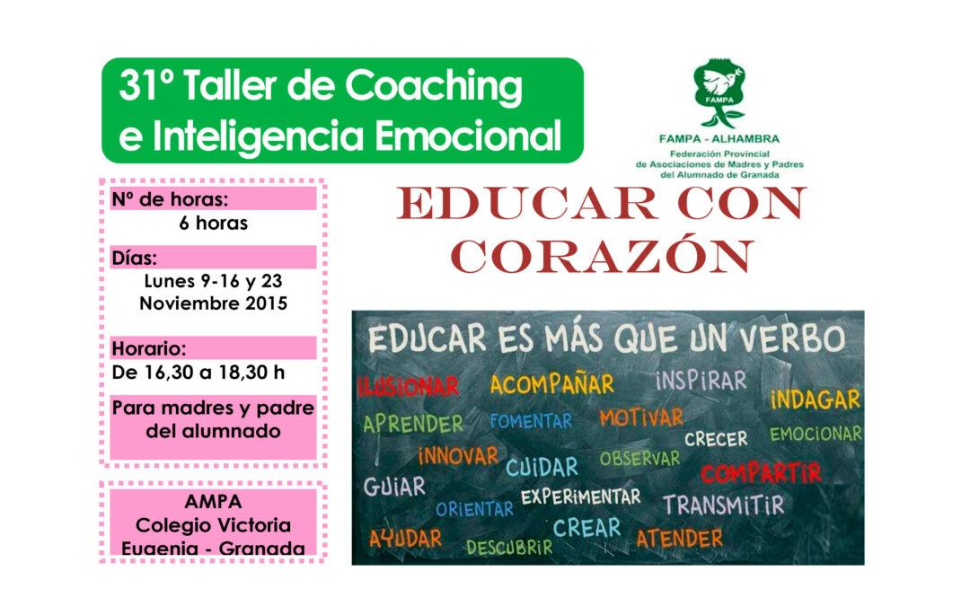 Taller 31º: FAMPA Educar con Corazón.