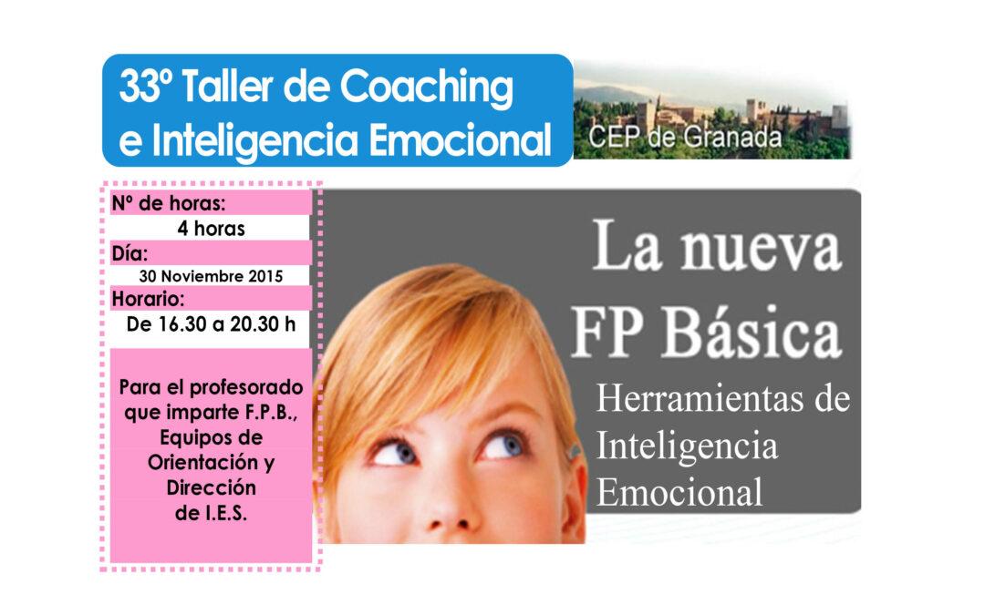 Taller 33º: Herramientas de Inteligencia Emocional para la FPB.