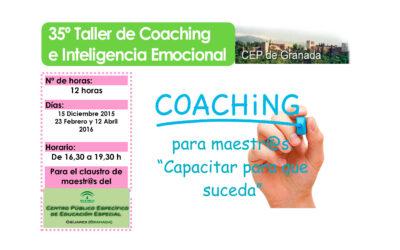 Taller 35º: Coaching para Maestr@s. Capacitar para que suceda.