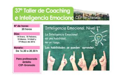 Taller 37º: Inteligencia Emocional para la mejora de la Convivencia Escolar. Nivel I. CEP Granada.