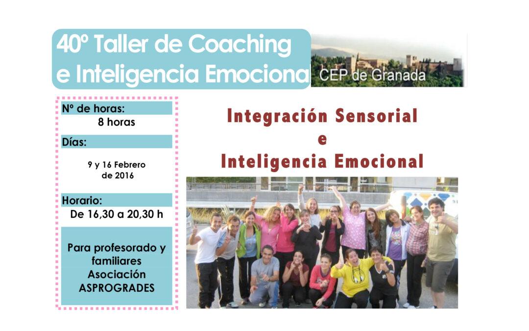 Taller 40º: Integración Sensorial e Inteligencia Emocional. ASPROGRADES.