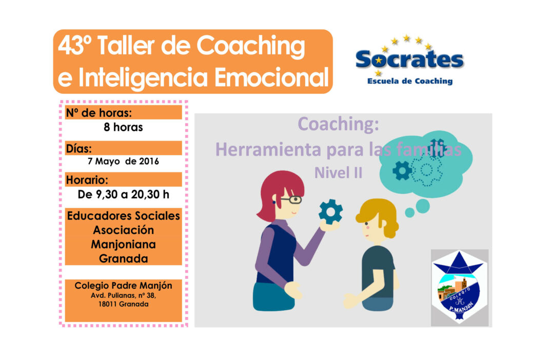 Taller 43º: Coaching: Herramienta para las Familias.