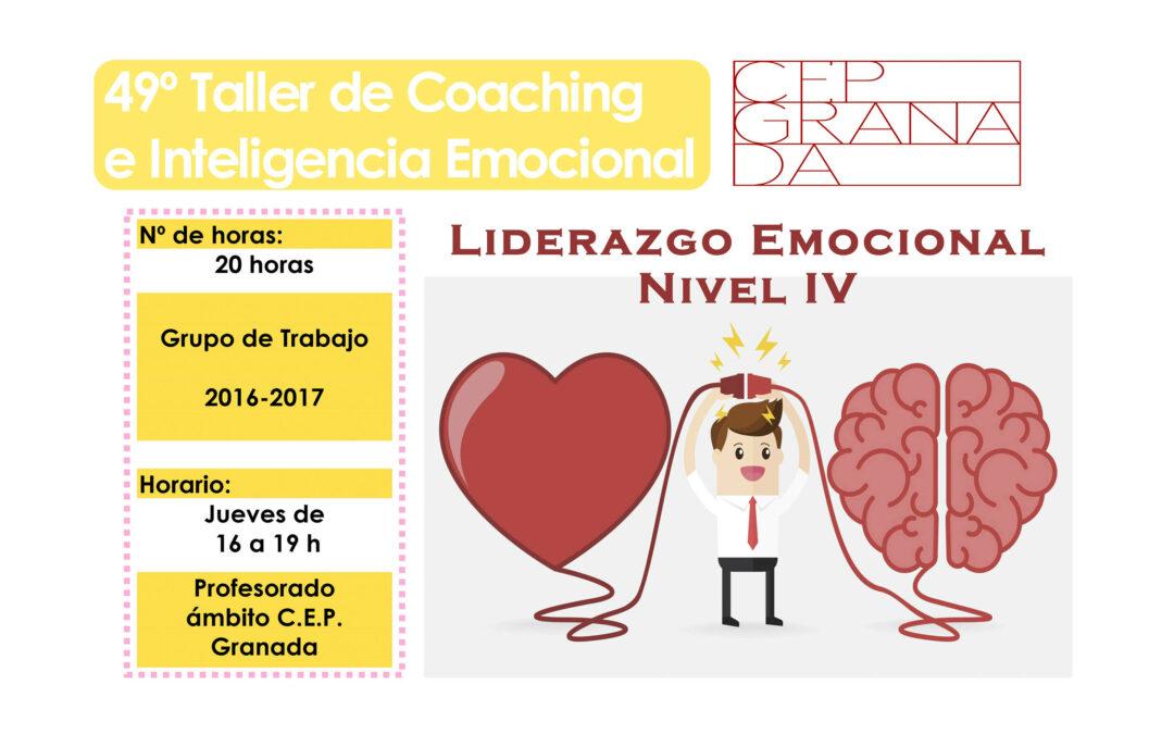 Taller 49º: Liderazgo emocional. Nivel IV. CEP-Granada
