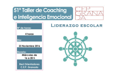 Taller 51º: Liderazgo Escolar. Red Orientación CEP Granada