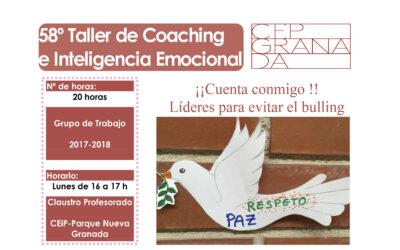 Taller 58: CEIP Parque Nueva Granada. Líderes para evitar el bulling.