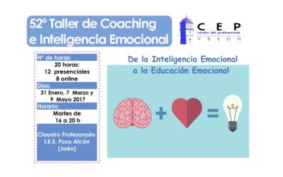 Taller 52º: De la Inteligencia Emocional a la Educación Emocional. IES Pozo Alcón
