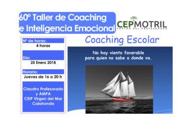 Taller 60º: CEIP Virgen del Mar (Calahonda). Coaching Escolar