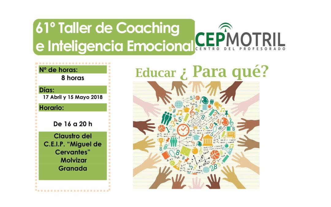 Taller 61: CEIP Miguel Cervantes (Molvizar) Educar ¿para qué?